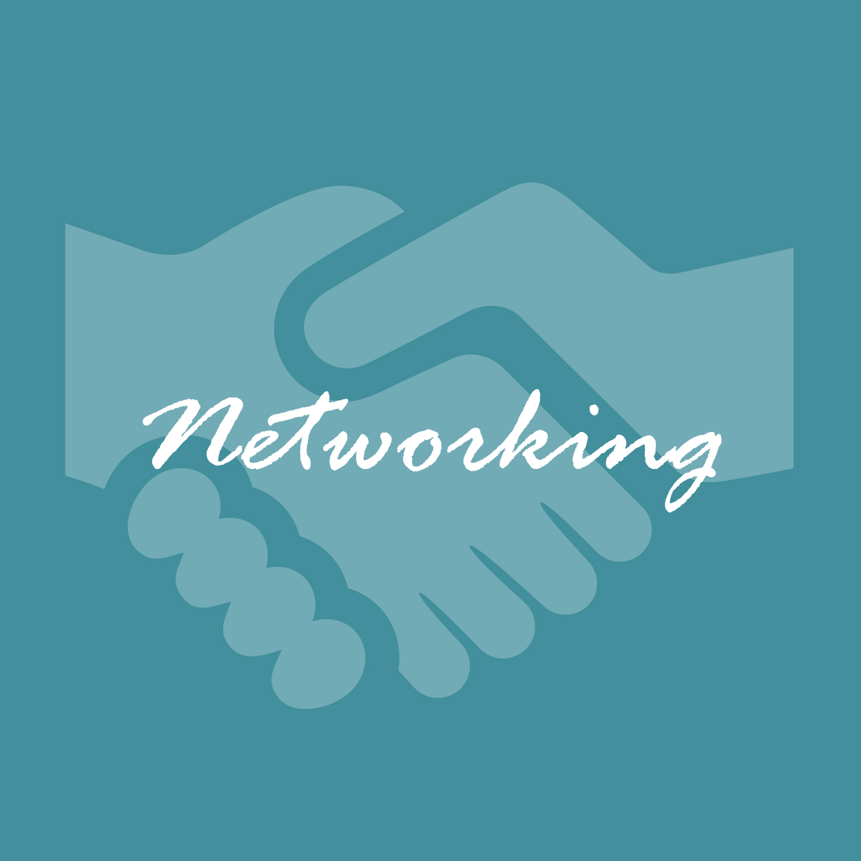 Networking Sticker